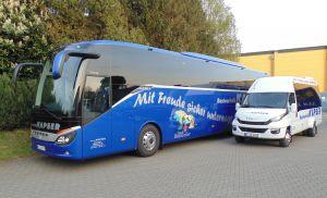 Der Fernreisebus von Kapser-Reisen