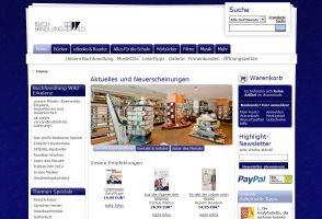 Die Website von Buchhandlung-Wild