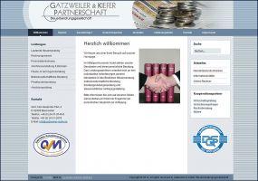 Die Website von Gatzweiler & Kiefer