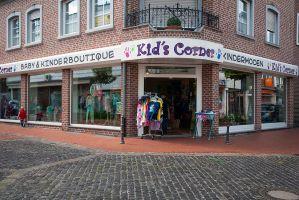 Das Geschäft von Kindermoden Kids Corner