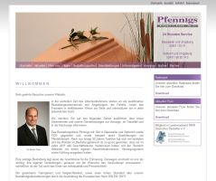 Die Website von Bestattungsinstitut Pfennigs e.K.