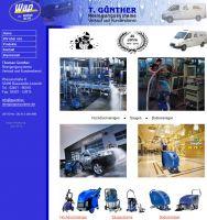 Die Website von Reinigungsgeräte Günther