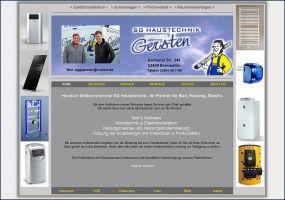 Internetauftritt Siegmar Gersten Haustechnik